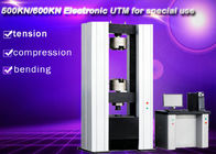 500KN 600KN Servo Motor Electronic Universal Testing Machine Two Columns Computer Control