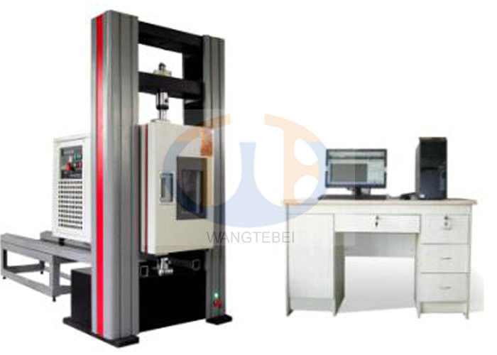 Space Protection Tensile Testing Machine , Two Columns Tensile Testing Equipment