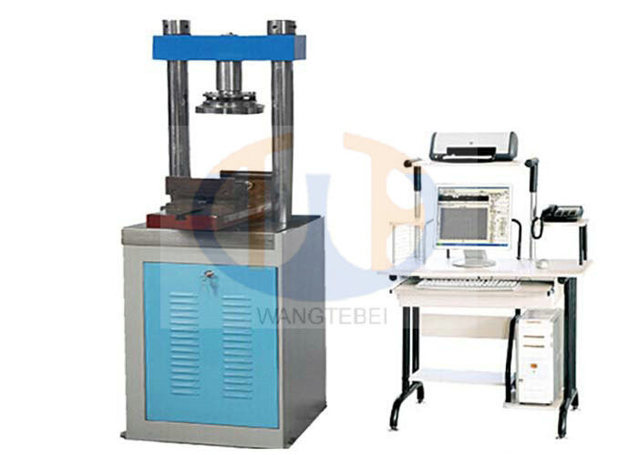 Concrete Flexural Strength Testing Machine , Bending Testing Equipment