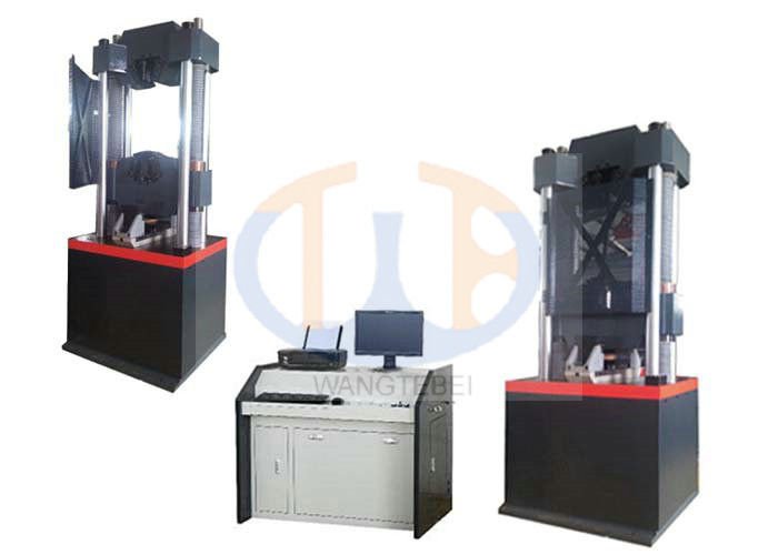2 / 4 Columns Hydraulic Spring Testing Machine , Cable Testing Machine