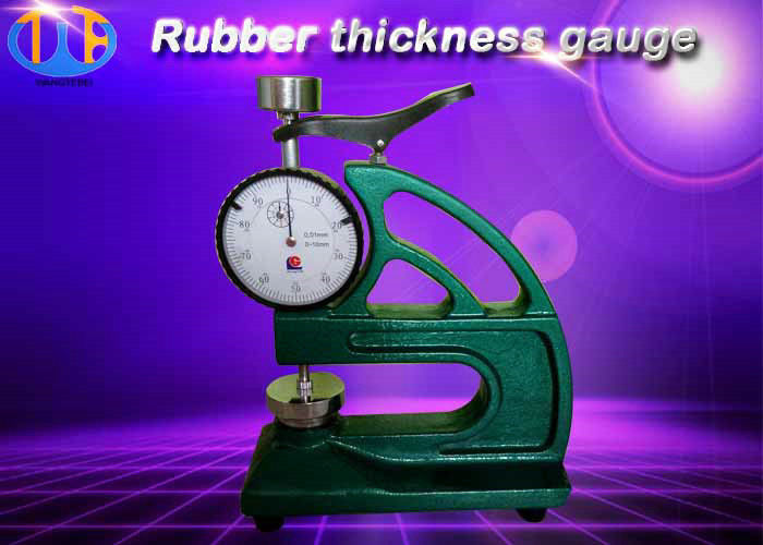 Digital Rubber Equipment Test Piece Thickness Gauge 22±5Kpa Apply Pressure