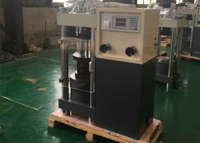 200 Ton Civil Engineering Testing Equipment Concrete Compressive Force Testing Machine